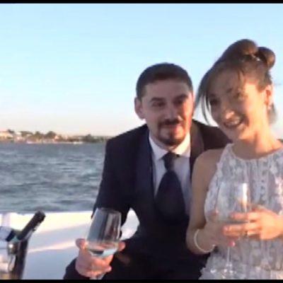 Sul lago di Lesina i matrimoni si celebrano a bordo di un'antica imbarcazione dei pescatori