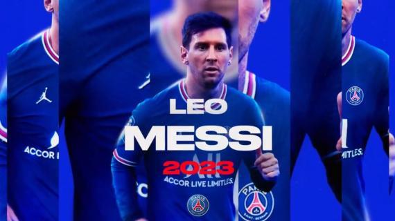 E' ufficiale: Messi è un giocatore del Paris Saint-Germain, arriva l'annuncio del club