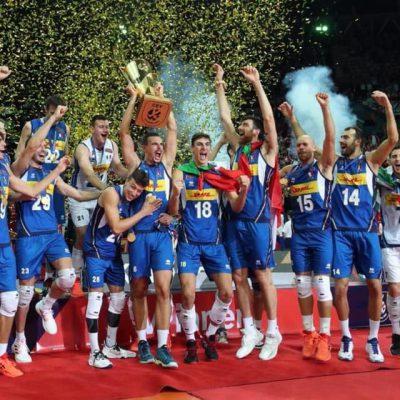 Volley: Italia campione d'Europa. Fefè De Giorgi in diretta su Radio Norba
