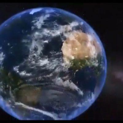 La Puglia nello spazio