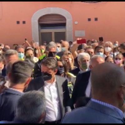 Conte in visita a Foggia