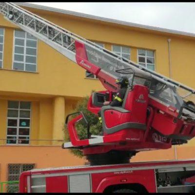 Incendio nella scuola Busciolano di Potenza, nessun ferito