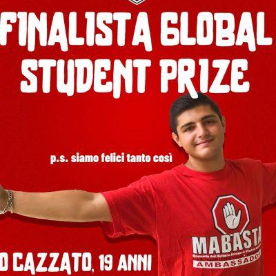 Mirko Cazzato da Lecce candidato a diventare lo studente migliore del mondo