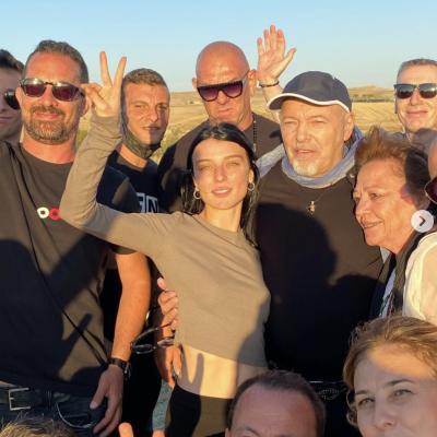 Vasco Rossi gira in Puglia il nuovo video - Le foto