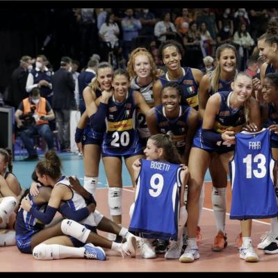 Ital-volley femminile campione d'Europa