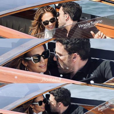 JLo e Ben Affleck al festival del cinema: l'amore sbarca a Venezia