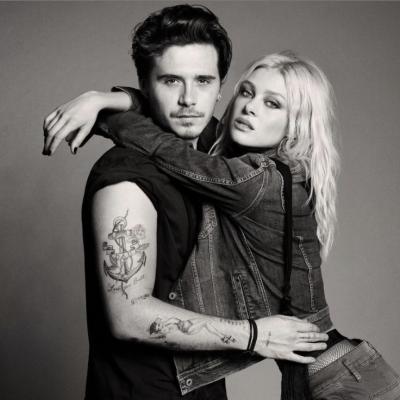 Brooklyn Beckham e la fidanzata insieme in una campagna pubblicitaria