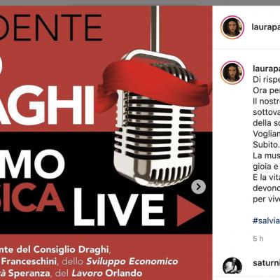 Gli artisti italiani: per i concerti capienza al 100% con green pass