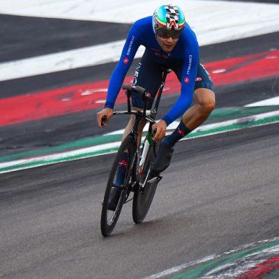 Ciclismo, Filippo Ganna campione del mondo in Belgio