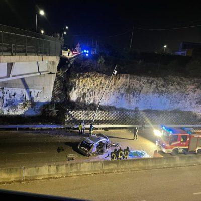 Precipita con l'auto dal cavalcavia, morto ex sindaco di Surbo nel Leccese