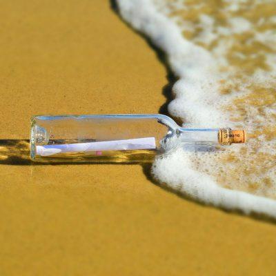 Messaggio nella bottiglia ritrovato dopo 37 anni