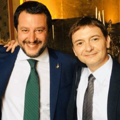 """Caso Morisi, Salvini porge l'altra guancia; critiche da Pd e M5S. Renzi( Iv): """"Non faremo a Morisi quello che la Bestia ha fatto a noi"""""""