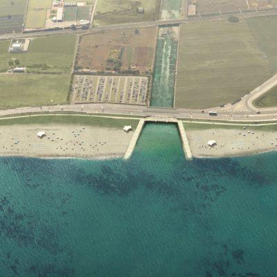 Divieto di balneazione a Pane e Pomodoro, spiaggia a sud di Bari. Riversati liquami in mare a causa della forte pioggia
