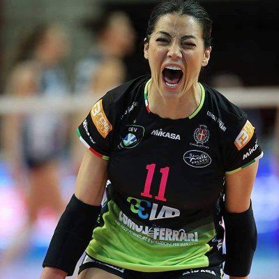 """Volley femminile, la pugliese Stefania Sansonna si ritira: """"Aspetto un bambino"""""""