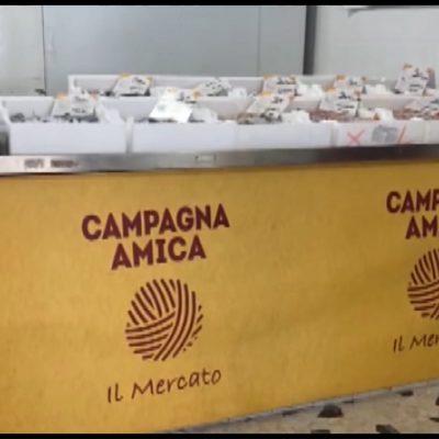 """""""Amica"""", il mercato di Coldiretti a Foggia"""