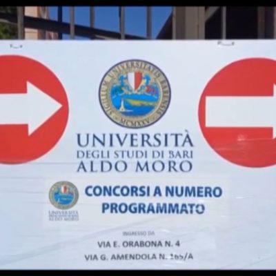 Università di Bari, test di Medicina tra Green Pass e numero chiuso