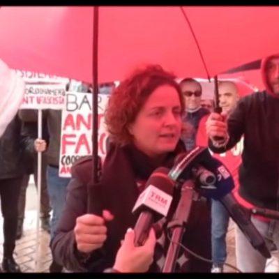 Assalto alla Cgil, le manifestazioni di solidarietà in Puglia