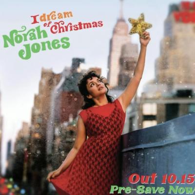 Norah Jones prepara il suo album di Natale