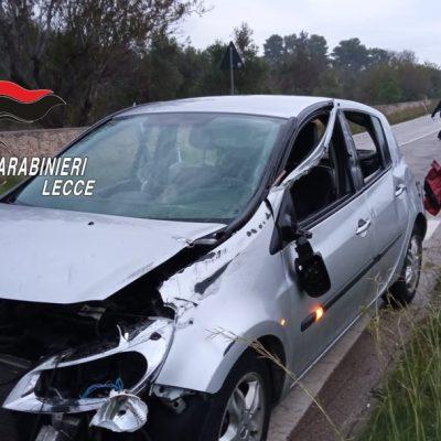 Auto contro muretto a secco: muore 21enne in Salento, conducente positivo all'alcoltest